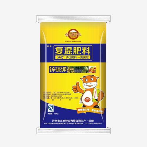 复混肥料锌硫钾